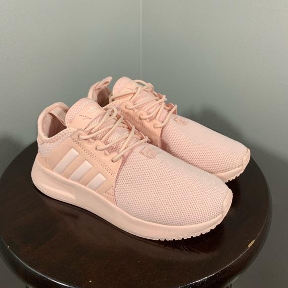 Adidas girls size 1 shoes